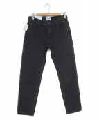 SERGE de bleu(サージ)の古着「ハイウエストデニム」|ブラック