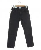SERGE de bleu(サージ デ ブルー)の古着「ハイウエストデニム」|ブラック