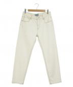 SERGE de bleu(サージ デ ブルー)の古着「ホワイトジーンズ」