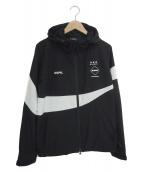 ()の古着「ウォームアップジャケット」 ブラック