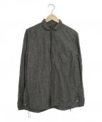 RUDE GALLERY(ルードギャラリー)の古着「フレンチカラーシャツ」 グレー