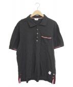 Thom Browne(トムブラウン)の古着「ポロシャツ」|グレー
