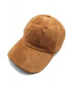SUPREME(シュプリーム)の古着「スウェードキャップ」|ブラウン