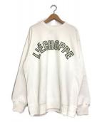 ()の古着「レショップスウェット」 ホワイト