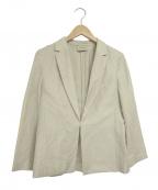UNITED ARROWS TOKYO()の古着「リネンテーラードジャケット」|ベージュ