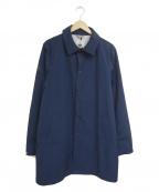 le coq sportif(ルコックスポルティフ)の古着「ステンカラーコート」|ネイビー