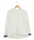 BARNYARDSTORM(バンヤードストーム)の古着「フリルスリーブブラウス」|ホワイト