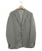 BOGLIOLI()の古着「2Bテーラードジャケット」|グレー