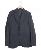 LARDINI(ラルディーニ)の古着「ブートニエールテーラードジャケット」 ネイビー