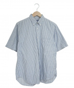 JUNYA WATANABE MAN(ジュンヤワタナベマン)の古着「半袖BDシャツ」 ブルー