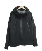 DESCENTE ALLTERRAIN(デザイント オルテライン)の古着「アクティブシェルジャケット」|ブラック