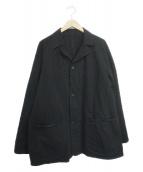 ()の古着「デニムワークジャケット」 ブラック