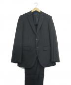 LANVIN en Bleu(ランバンオンブルー)の古着「セットアップスーツ」 ブラック