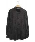 ()の古着「マヨケワネックビッグL/Sシャツ」 グレー