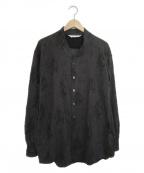 SASQUATCHfabrix.(サスクワッチファブリックス)の古着「マヨケワネックビッグL/Sシャツ」|グレー