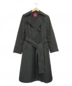 AMACA(アマカ)の古着「タイロッケン風コート」 ブラック
