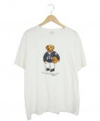POLO RALPH LAUREN()の古着「プリントTシャツ」|ホワイト