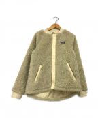 Patagonia()の古着「ガールズレトロエックスボンバージャケット」|アイボリー