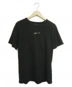 agnes b homme(アニエスベーオム)の古着「フロントロゴT」 ブラック