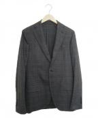 LARDINI(ラルディーニ)の古着「2Bテーラードジャケット」 グレー