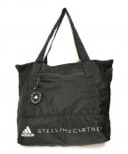 adidas by stella McCartney(アディダスバイステラマッカートニー)の古着「プリントナイロントートバッグ」|ブラック