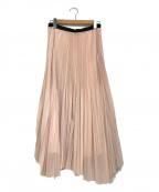 icB(アイシービー)の古着「プリーツスカート」|ピンク