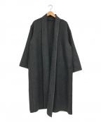 GALLARDA GALANTE(ガリャルダガランテ)の古着「ガウンコート」 グレー
