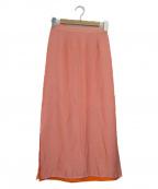JOURNAL STANDARD relume()の古着「スリットスカート」|ピンク
