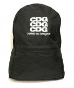 GOOD DESIGN SHOP COMME des GARCONS(グッドデザインショップ コムデギャルソン)の古着「ナイロンバックパック」 ブラック