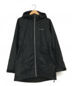 Columbia(コロンビア)の古着「シェルロングジャケット」|ブラック
