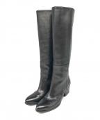 BUTTERO(ブッテロ)の古着「ロングブーツ」|ブラック
