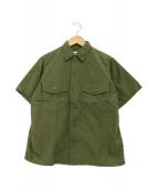 ()の古着「半袖シャツ」 オリーブ