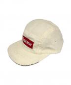 SUPREME(シュプリーム)の古着「ボックスロゴキャップ」|ホワイト