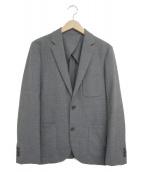 ()の古着「マットウーステッドジャケット」 グレー