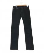 DIOR HOMME(ディオール オム)の古着「ストレッチスキニーカラーデニムパンツ」 ブラック
