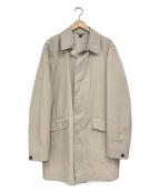 BURBERRY PRORSUM(バーバリープローサム)の古着「ステンカラーコート」|ベージュ