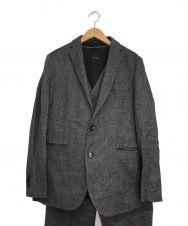 JOSEPH HOMME (ジョゼフ オム) 3ピーススーツ グレー サイズ:48(XL相当)