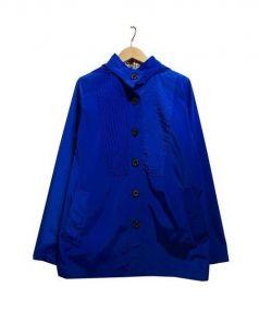 Aquascutum(アクアスキュータム)の古着「パッカブルベルテッドコート」 ブルー