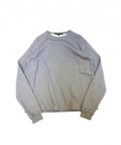 SOFIE DHOORE(ソフィードール)の古着「クルーネックラグランスウェット」|グレー