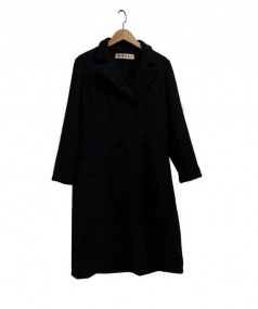 MARNI(マルニ)の古着「ウールコート」|ブラック
