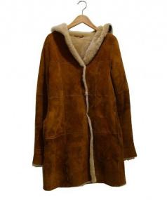 ANAYI(アナイ)の古着「ムートンコート」|ブラウン