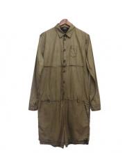 N゜21(ヌメロ ヴェントゥーノ)の古着「後染め加工ジャンプスーツ」|オリーブ