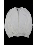 FilMelange(フィルメランジェ)の古着「コットンリネンカーディガン」|ホワイト