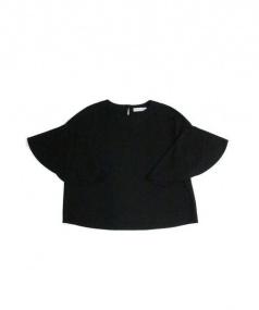 ADORE(アドーア)の古着「ドライポンチフレアスリーブカットソー」|ブラック