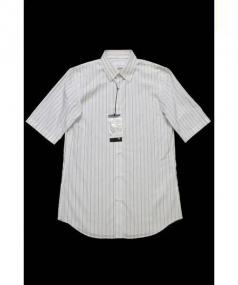 JIL SANDER(ジルサンダー)の古着「半袖シャツ」|ブルー×ホワイト