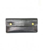 Brown Brown(ブラウンブラウン)の古着「長財布」|ブラック