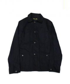 PALMER TRADING COMPANY×Dickies(パーマートレーディングカンパニー×ディッキーズ)の古着「ワークジャケット」|ブラック