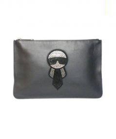 FENDI(フェンディ)の古着「クラッチバッグ」|ブラック