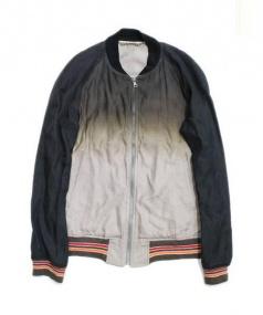 MIHARA YASUHIRO(ミハラヤスヒロ)の古着「グラデーションブルゾン」|ベージュ×ブラック