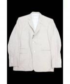 Black Fleece(ブラックフリース)の古着「リネン混ジャケット」|ベージュ